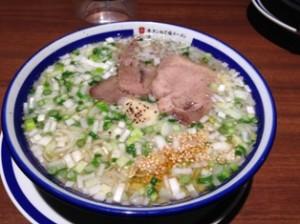 仙台牛タンねぎ塩ラーメン